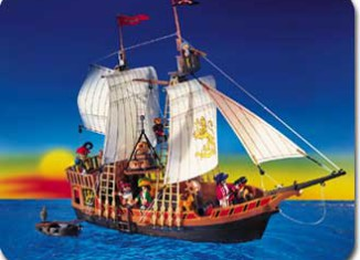 Playmobil - 3750v2 - Pirate ship
