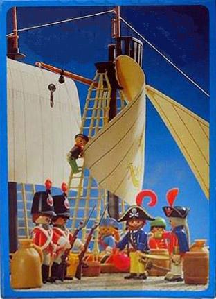 Playmobil 3791-ant - pirate / rum barrel - Back