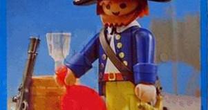 Playmobil - 3791-ant - pirate / rum barrel