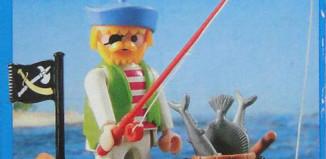 Playmobil - 3792-ant - pirate / rowboat