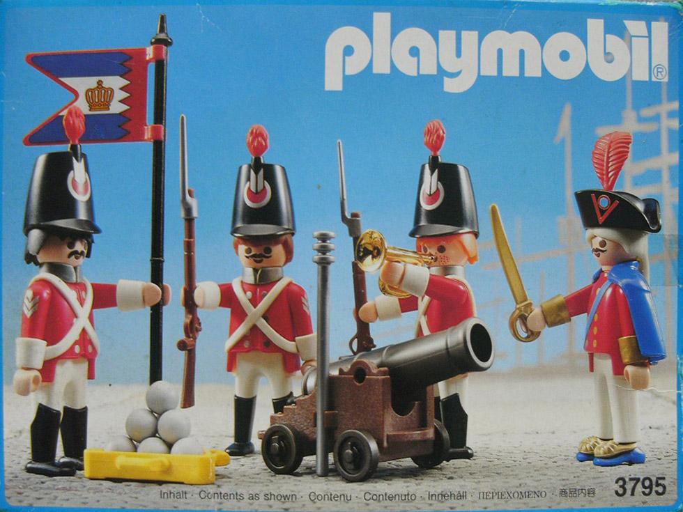 Playmobil 3795v1 - Harbour guard - Box