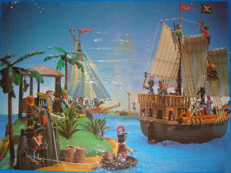 Playmobil 3799-esp - Treasure island - Back