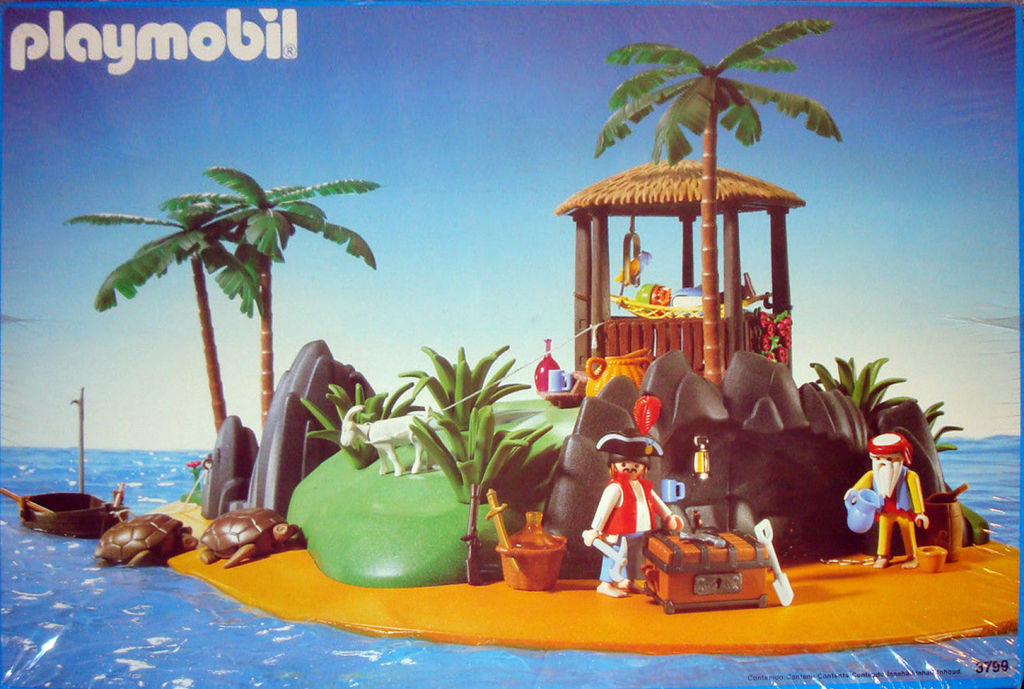Playmobil Pirate Treasure Island