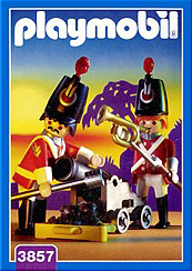 Playmobil 3857 - Redcoats watch post - Box