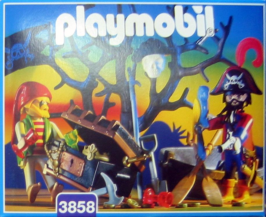 Playmobil 3858-esp - treasure hunters - Box
