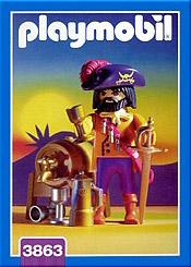Playmobil 3863 - Pirate Captain - Box