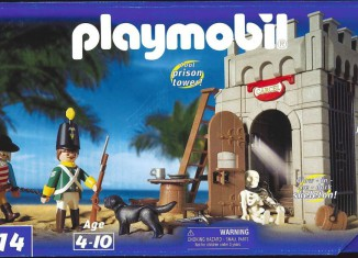 Playmobil - 3914-usa - Prison tower