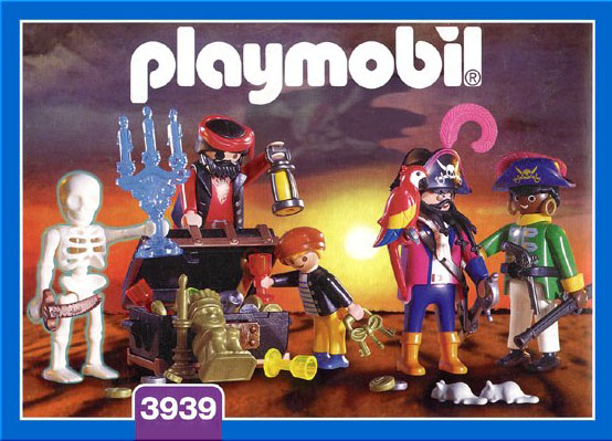Playmobil 3939 - Pirate crew - Box