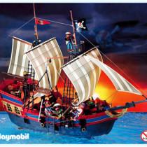 Playmobil - 3940 grosses piratenflaggschiff