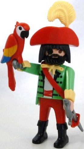 Playmobil 3977v5 - Pirate - Back