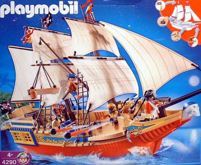 Playmobil 4290 - Large Pirate Ship - Box