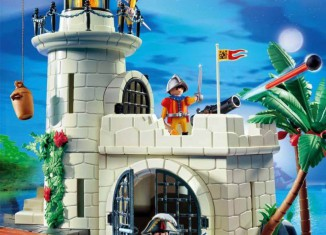Playmobil - 4294v1 - Soldiers fortress with lighthouse