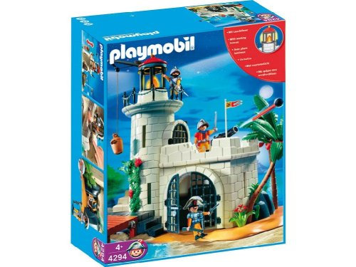 Playmobil 4294v1 - Soldiers fortress with lighthouse - Box