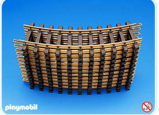 Playmobil - 4354-fam - 12 Curved Tracks