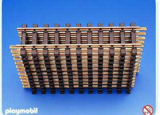 Playmobil - 4355-fam - 12 Straight Tracks