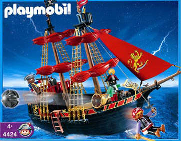 playmobil set 4424 pirates privateer klickypedia. Black Bedroom Furniture Sets. Home Design Ideas