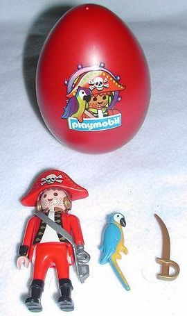 Playmobil 4911s3 - pirate red egg - Back