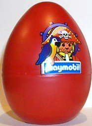 Playmobil 4911s3 - pirate red egg - Box