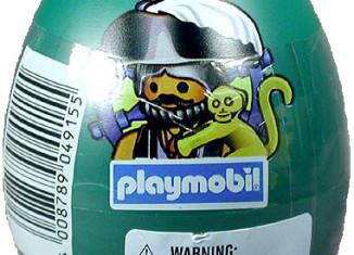 Playmobil - 4915s2-esp-usa - pirate green egg