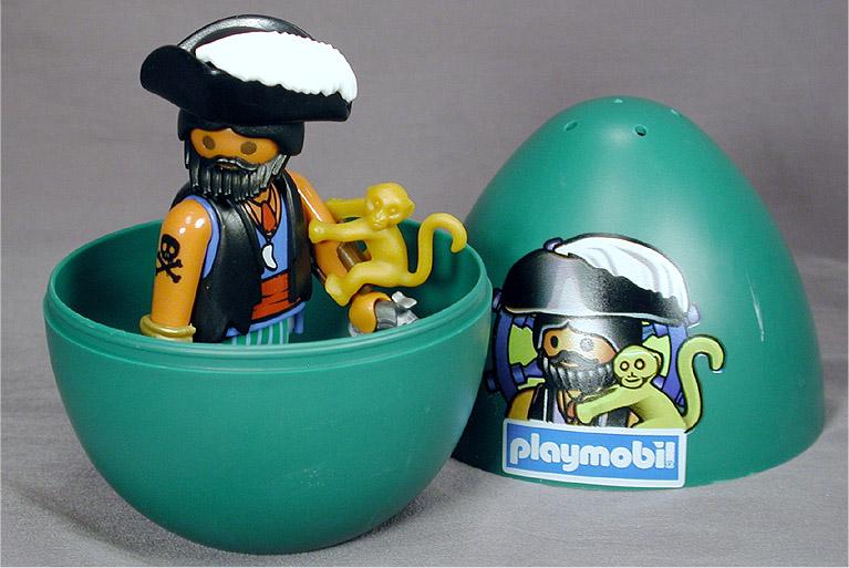 Playmobil 4915s2-esp-usa - pirate green egg - Box
