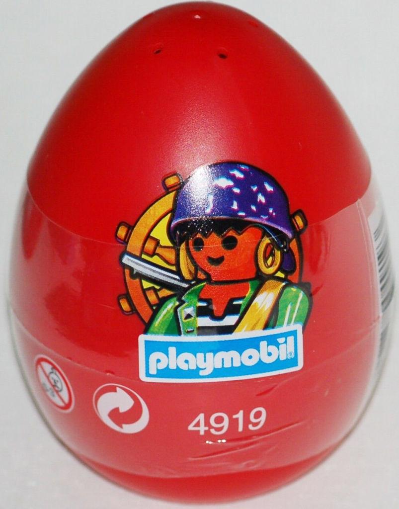 Playmobil 4919v1 - pirate red egg - Box