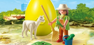Playmobil - 4944 - Alpaca keeper