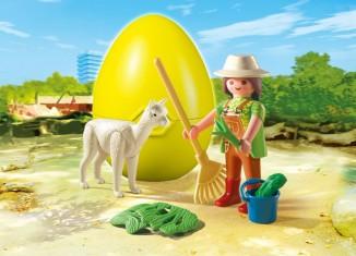 Playmobil - 4944 - Alpaca keeper