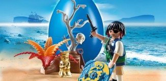 Playmobil - 4945 - Treasure hunting pirate egg