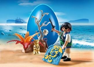 Playmobil - 4945 - Treasure hunting pirate egg
