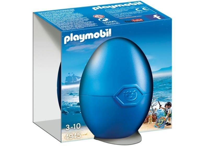 Playmobil 4945 - Treasure hunting pirate egg - Box