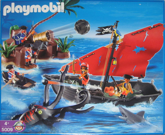 Playmobil 5009-ger - pirates battle - Box
