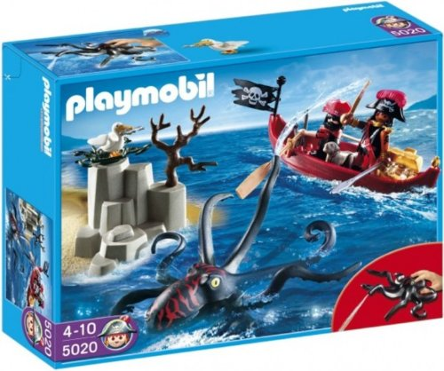 Playmobil 5020 - Giant Octopus with Pirates - Box