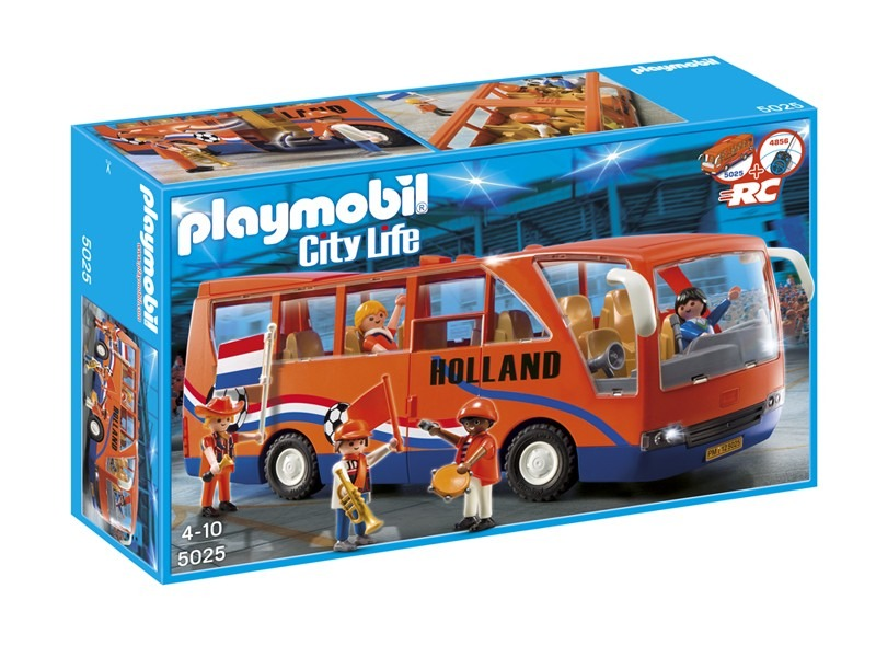 Playmobil 5025-net - Holland Supporters Bus - Box