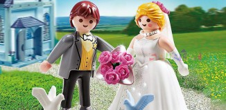 Playmobil - 5163 - Bride and Groom Duo Pack