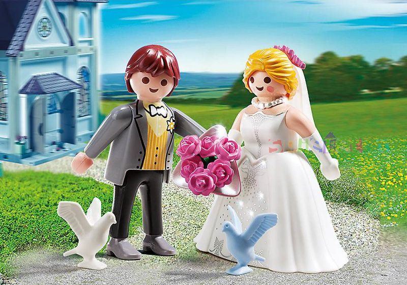playmobil set 5163 bride and groom duo pack klickypedia