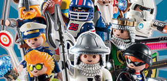Playmobil - 5596 - Figures Series 8 - Boys