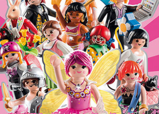 Playmobil - 5597 - Figures Series 8 - Girls