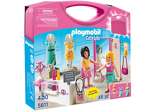 Playmobil 5611 - Carrying Case Shop - Box