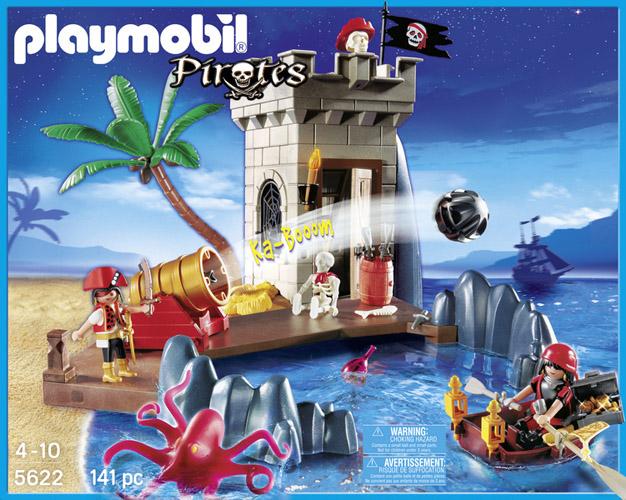 Playmobil 5622-usa - pirate club set - Box