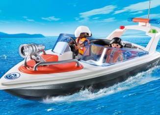 Playmobil - 5625-ukp - Coastal Rescue Boat