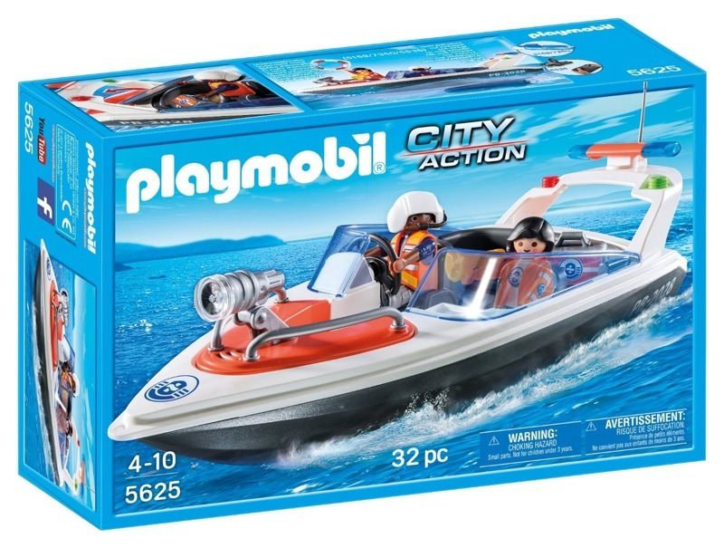 Playmobil 5625-ukp - Coastal Rescue Boat - Box