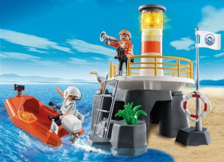 Playmobil - 5626-ukp-usa - Lighthouse and boat