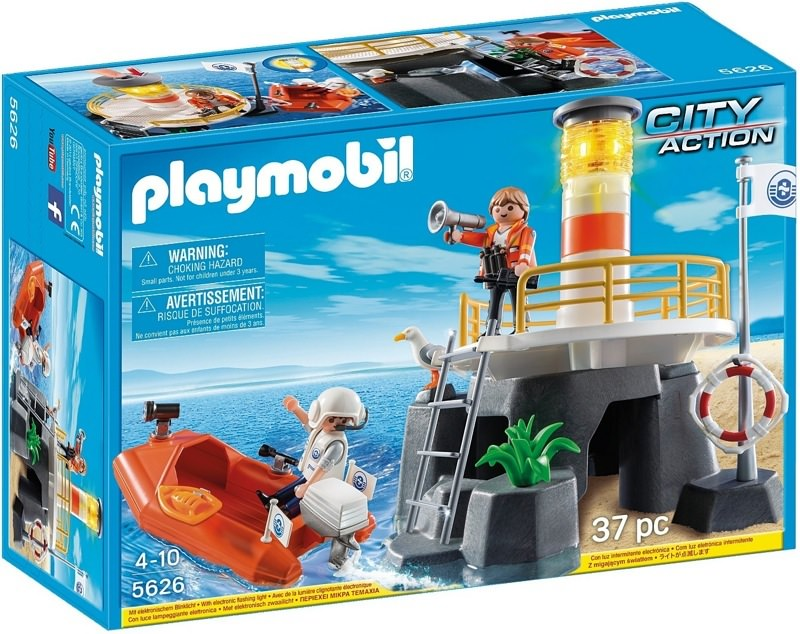 Playmobil 5626-ukp-usa - Lighthouse and boat - Box