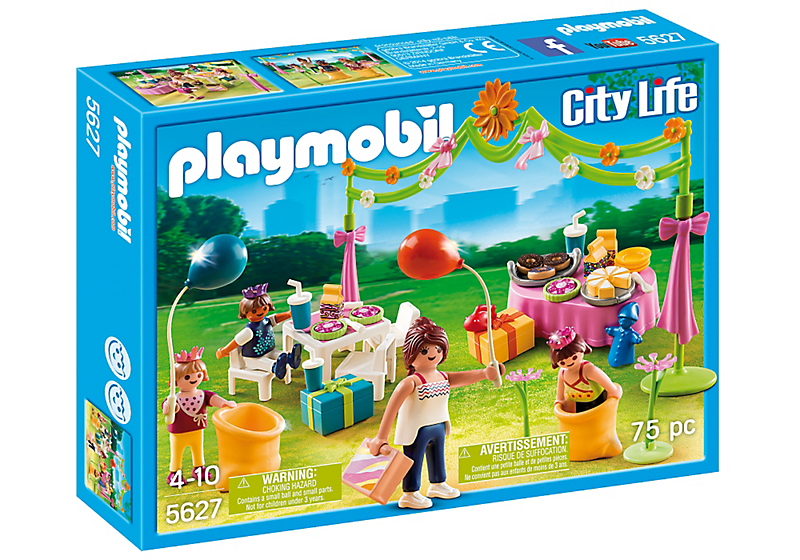 Playmobil 5627-usa - Childrens Birthday Party - Box