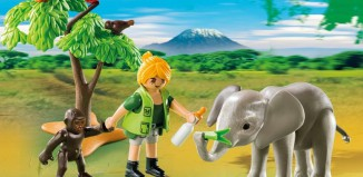 Playmobil - 5628-usa - Carrying Case African Wildlife