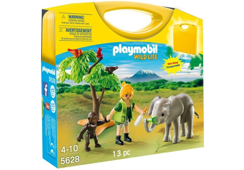 Playmobil 5628-usa - Carrying Case African Wildlife - Box
