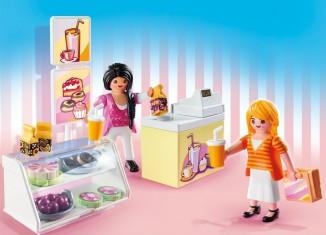Playmobil - 5631-usa - Carrying Case Food Shop