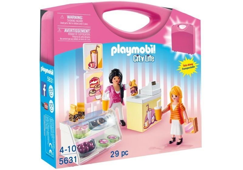 Playmobil 5631-usa - Carrying Case Food Shop - Box
