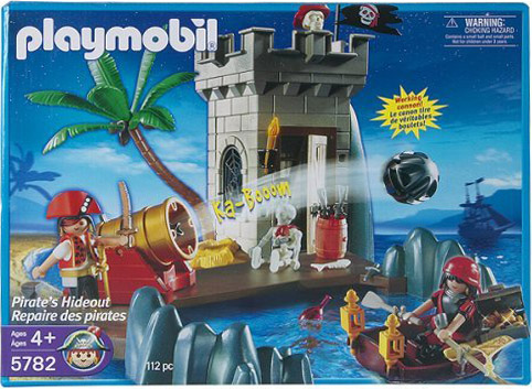 Playmobil 5782-usa - pirate's hideout - Box