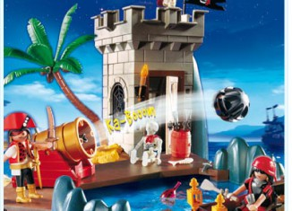Playmobil - 5782-usa - pirate's hideout